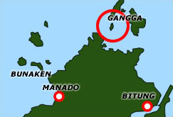 Gangga Island Resort Map