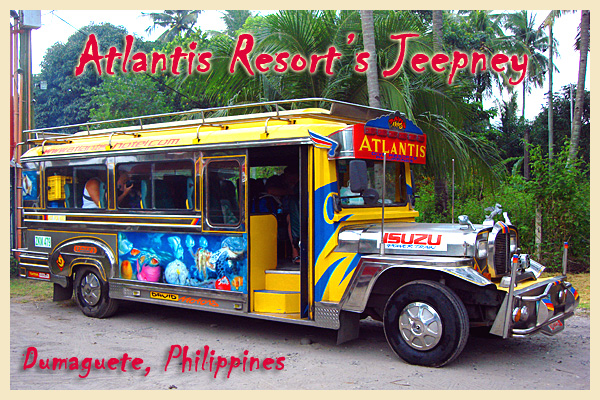 Atlantis Resort Jeepney - copyright Atlantis Resort