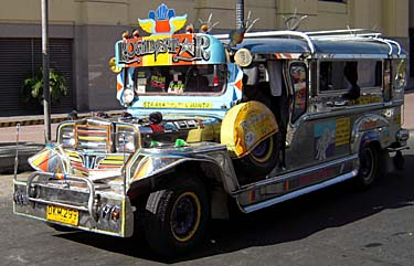 A Jeepney in Manila
