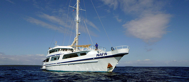 M/V Nai'a in Tonga - this image copyright Sue Bradley