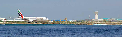 Maldives International Airport - Maldives Report and Photos copyright Ken Knezick, Island Dreams